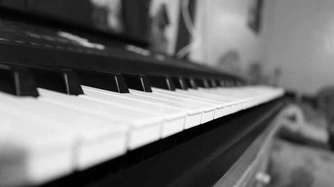 acoustic black and white classic classical music